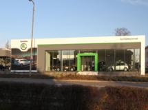 Showroom Škoda Autodružstvo Znojmo